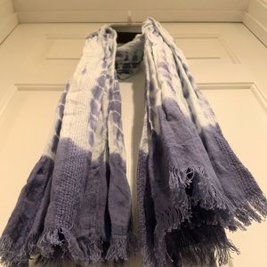 Tie Dye Oblong Scarf